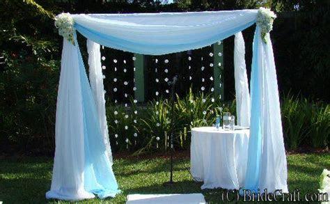 How to make a Wedding cabana/chuppah. Totally awesome