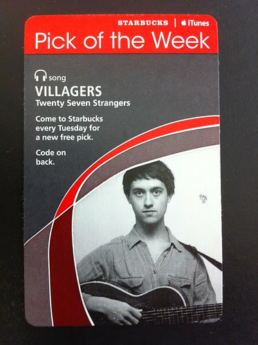 Starbucks iTunes Pick of the Week - Villagers - Twenty Seven Strangers