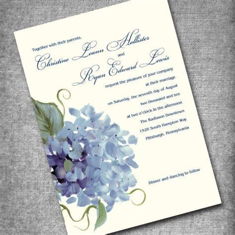 Classic wedding invitations for you: Printable wedding