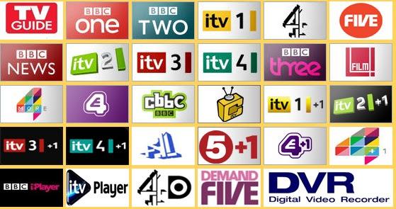 BBC ESPN DISNEY CNN CBS BT SPORT SKY ITV