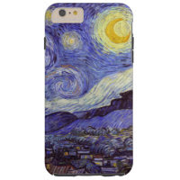 Vincent Van Gogh Starry Night Vintage Fine Art Tough iPhone 6 Plus Case