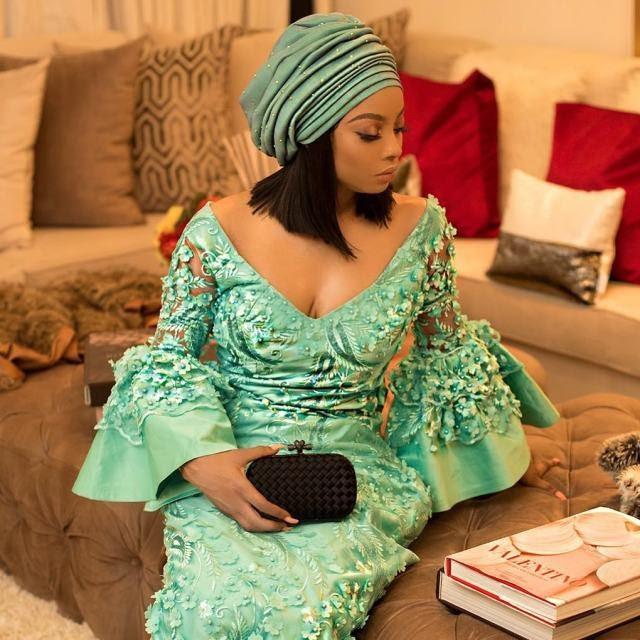 """""""Dating a guy for over 5years is a total waste of time""""----Toke Makinwa"""