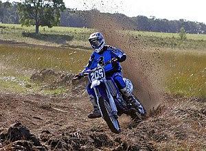 English: Motocross racing