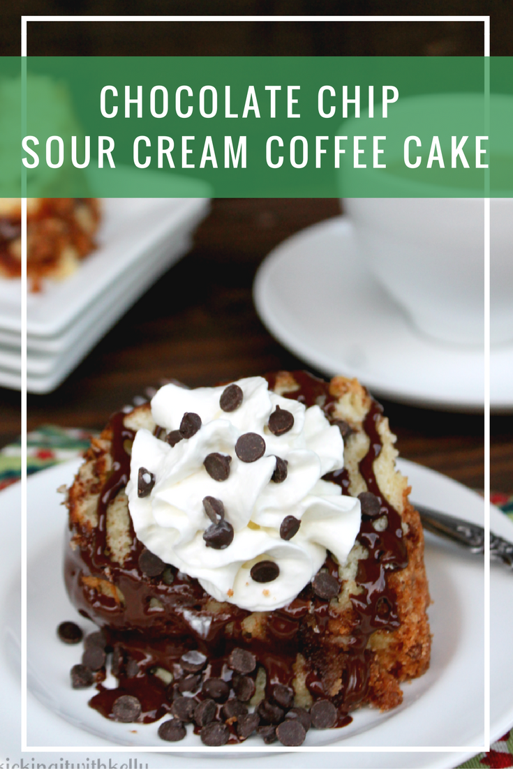 Chocolate Chip Sour Cream Coffee Cake Recipe — Dishmaps