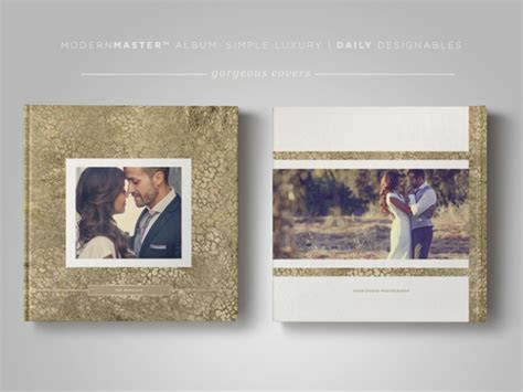 Wedding Photography Album Template   Simple Luxury
