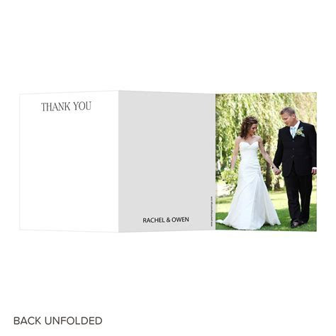 Newlywed Monogram   Unique Wedding Thank You Cards   Pear Tree
