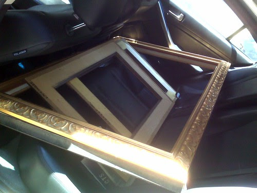 Frames coming home with moi!