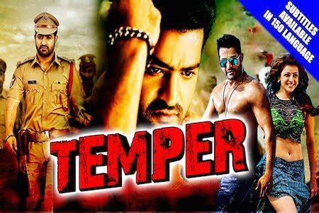 temper  hindi dubbed p hdrip hindi english