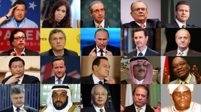 Filtración salpica 140 políticos y funcionarios de todo el mundo