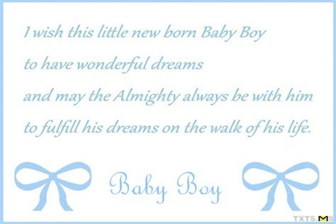 Congratulation For New Baby Boy Quotes