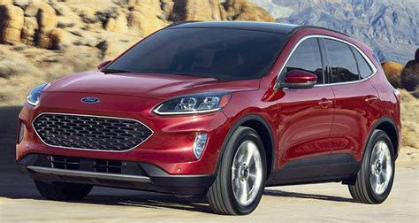 redesigned  ford escape adds tech loses weight