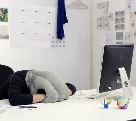 Ostrich Pillow by Kawamura-