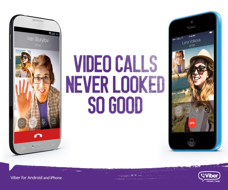 Viber5 videocalls 730x608 Viber introduces videos calls to its mobile chat apps for Android and iOS