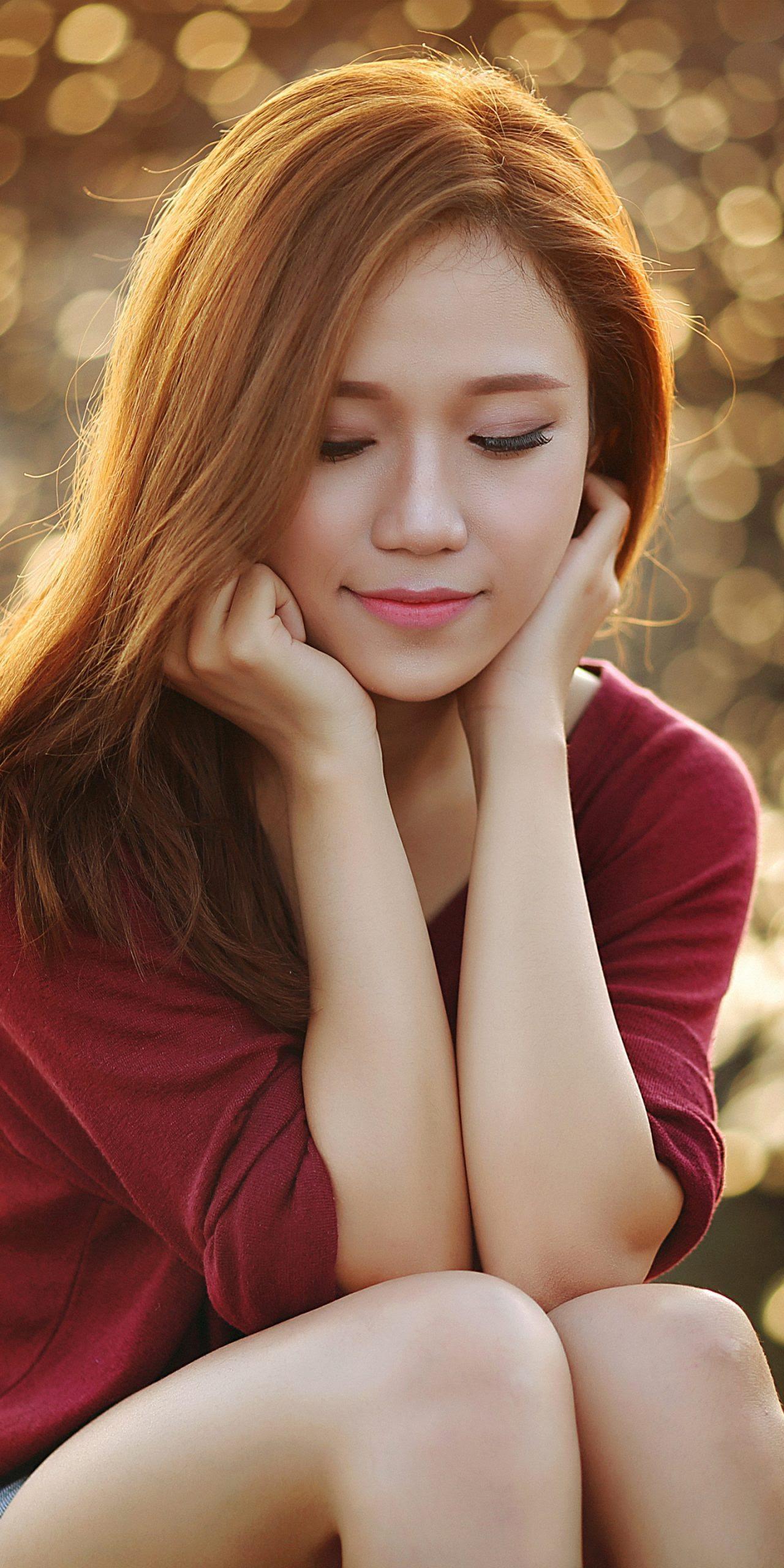 アジア女性のスマホ壁紙 Iphone Xs Max 1242 2688 Iphoneチーズ