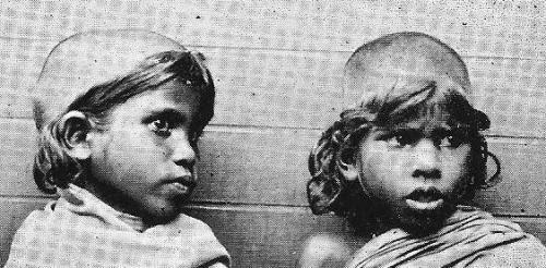 Badaga girls in 1909 or earlier