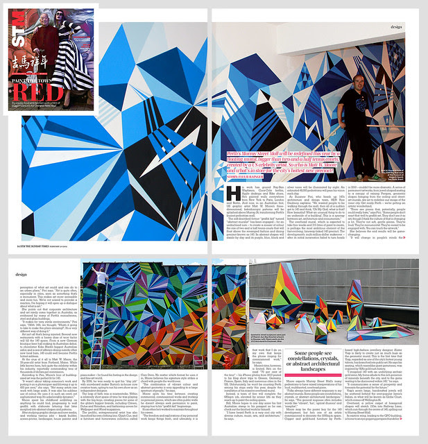 Sunday Times Magazine : Perth, Australia.