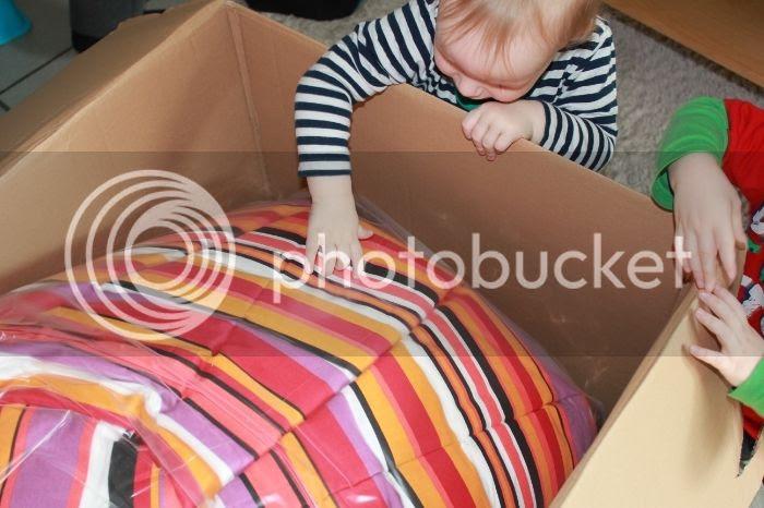 Paket offen