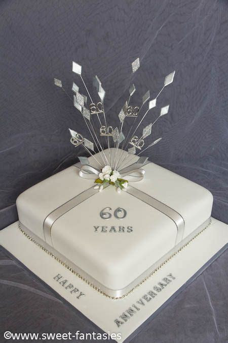 60th Wedding Anniversary Party   Diamond/White on