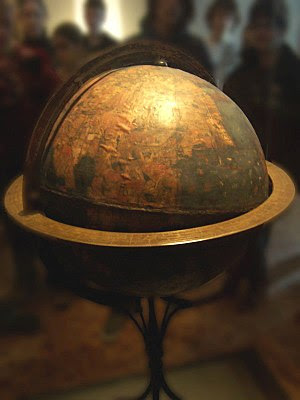 Terrestrial globe named