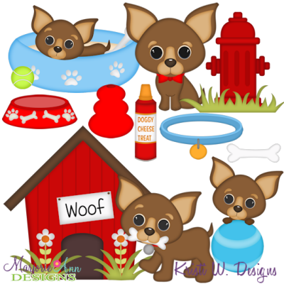 Download I Love My Chihuahua-Boy SVG Cutting Files Includes Clipart ...