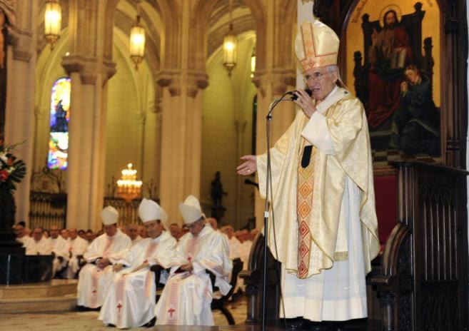 Resultado de imagen de despedida del cardenal rouco madrid