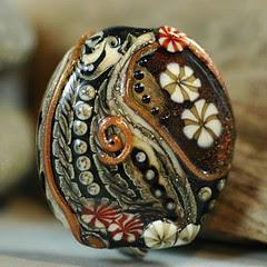 fossil bead