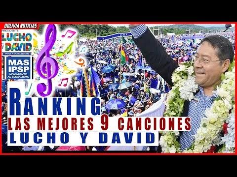 LUCHO Y DAVID. RANKING DE LAS MEJORES CANCIONES. MAS-IPSP