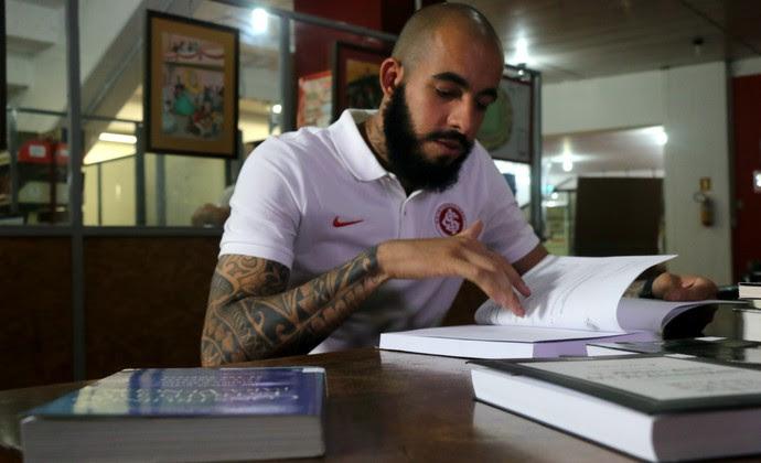Internacional Inter Danilo Fernandes Inter (Foto: Eduardo Deconto/GloboEsporte.com)