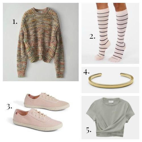 Acne Studios Sweater - Comrad Socks - Clare V. x TOMS Shoes - Miansai Cuff - Modern Citizen Tee
