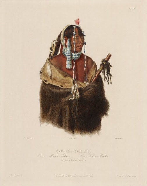 Mandeh Pahchu, a Mandan Indian