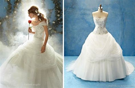 Disney Cinderella Wedding   Disney wedding dress by Alfred