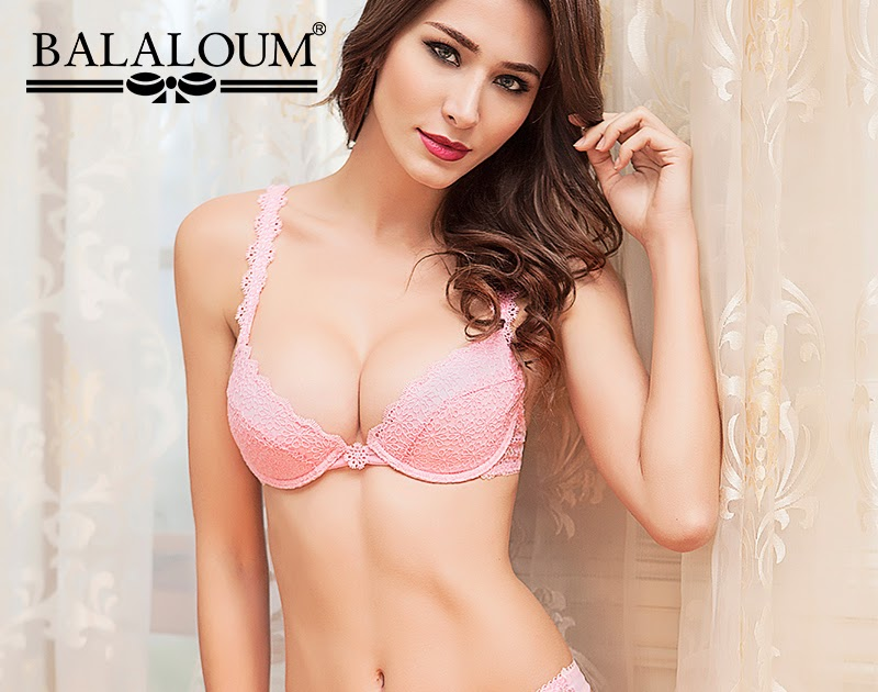 fee412377 Balaloum Sexy Women Push Up Bra and Panty Sets Floral Embroidery Female  Lingerie Set T Back Thongs G-String Hollow Out Seamless