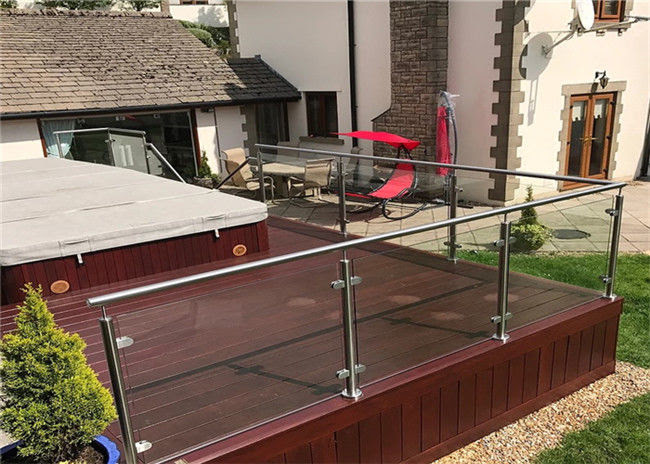 Exterior Stainless Steel And Glass Railing Systems Steel Railing