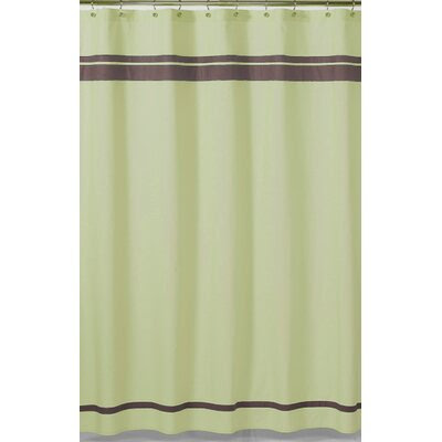 Sweet Jojo Designs Green and Brown Hotel Shower Curtain | Wayfair