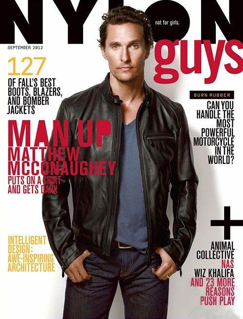NYLON Guys - September 2012, Matthew McConaughey