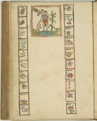 Aztec Calendar - Toval/Ramirez manuscript