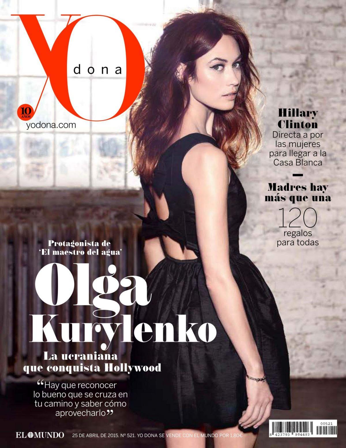 OLGA KURYLENKO in Yo Dona Magazine, April 2015 Issue