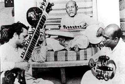 Ustad Allauddin Khan - File photo