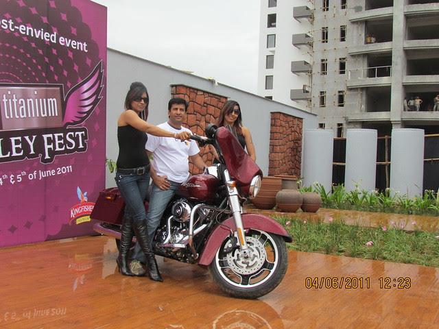 """Park Titanium Harley Fest"" at Park Street Wakad Pune IMG_3097"