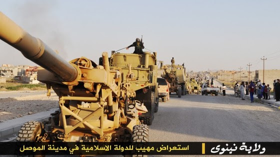 ISIS Holds Parade With Captured US Military Vehicles ISIS Mosul Parade 5 thumb 560x315 3334