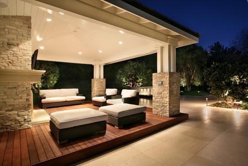 AMS Landscape Design Studios contemporary exterior