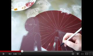 Illustration de La tisseuse de nuages : voir les vidéos (sur le blog)