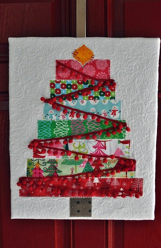 Scrappy Tree Wall Hanging ~ For Beth