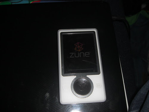 Zune 30 Frozen at Startup by CalAggie.