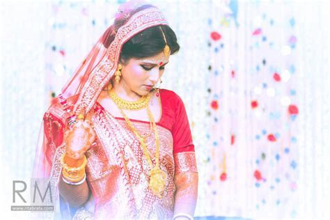 4 Lovely Traditional Bengali Bridal Saree Selections That