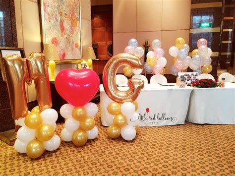 Wedding Balloon Decoration Singapore   Little Red Balloon