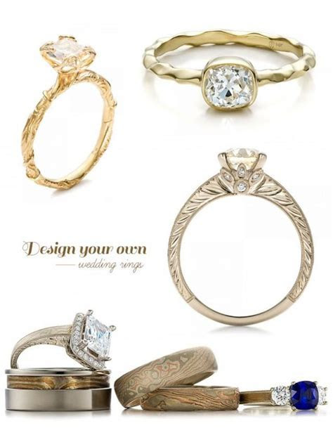 Design Your Own Wedding Ring With Joseph Jewelry   Weddbook