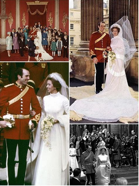 A royal wedding history : Princesses Margaret, Anne and