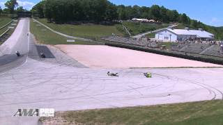 AMA Pro Motorcycle-Superstore.com Supersport - Road America Race 2 Highlights