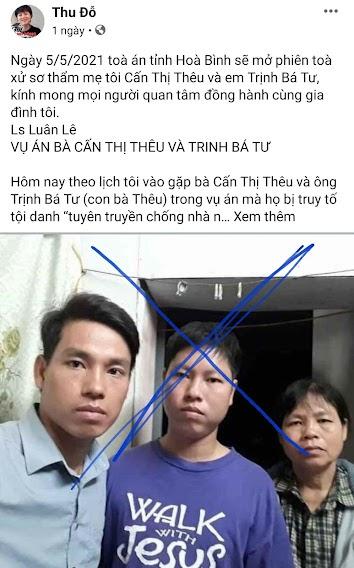 Gia đình Cấn Thị Thêu đang bị tẩy chay như thế nào?